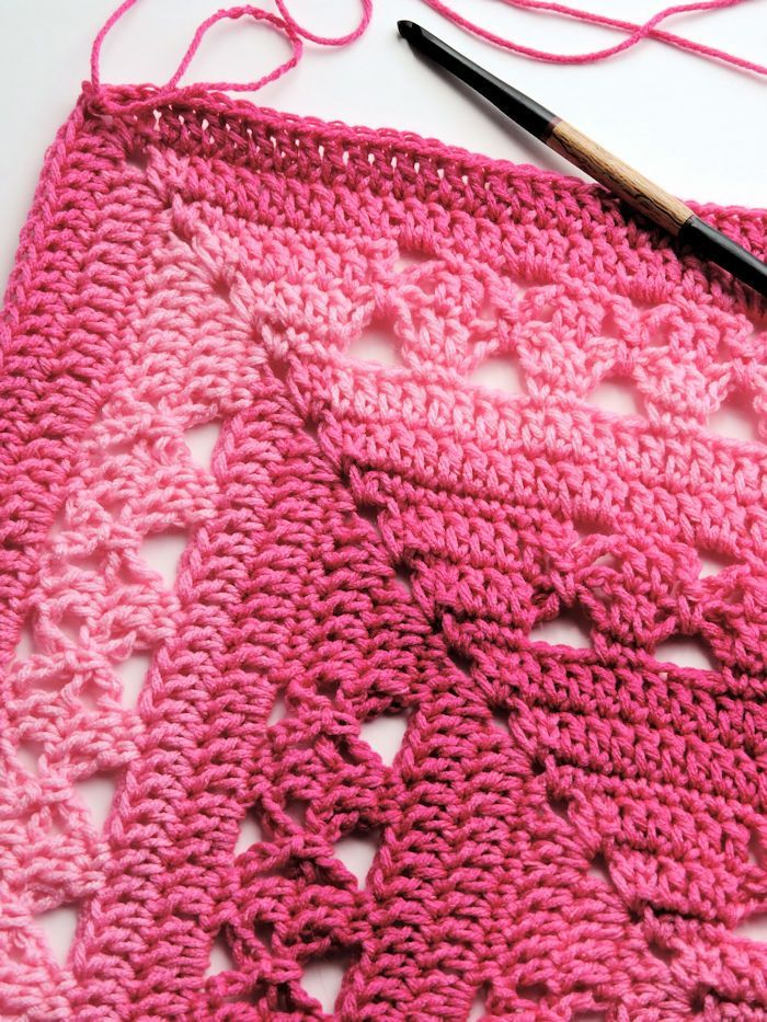 Lunar Crossings Rectangle Blanket Free Crochet Pattern | crafts ...