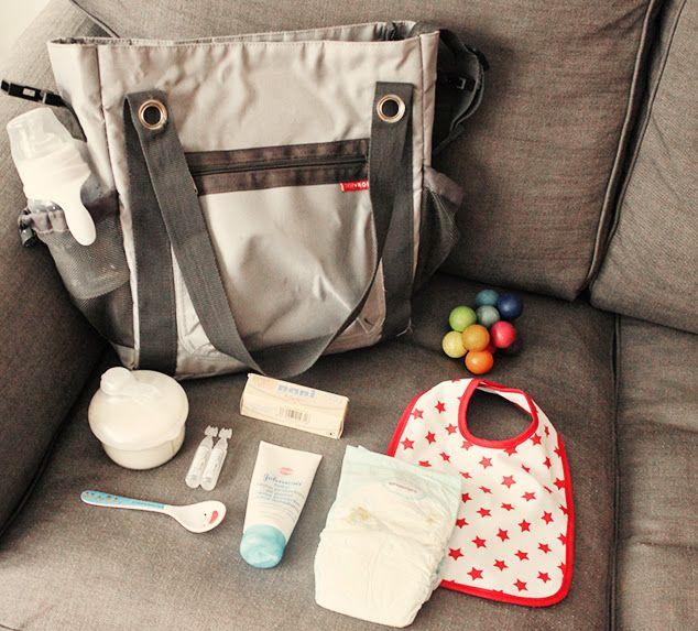 Qué llevar en la bolsa del carrito | Las aventuras de una madre primeriza