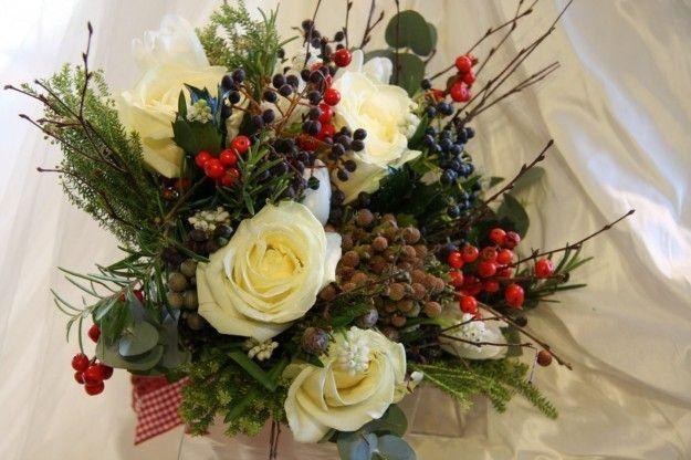 Bouquet Sposa Natale.Bouquet Sposa Natale Bouquet Da Sposa Inverno Bouquet Matrimonio