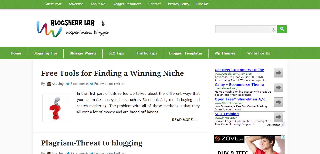 Best WordPress Converted Free Blogger Templates of 2013   Places to ...
