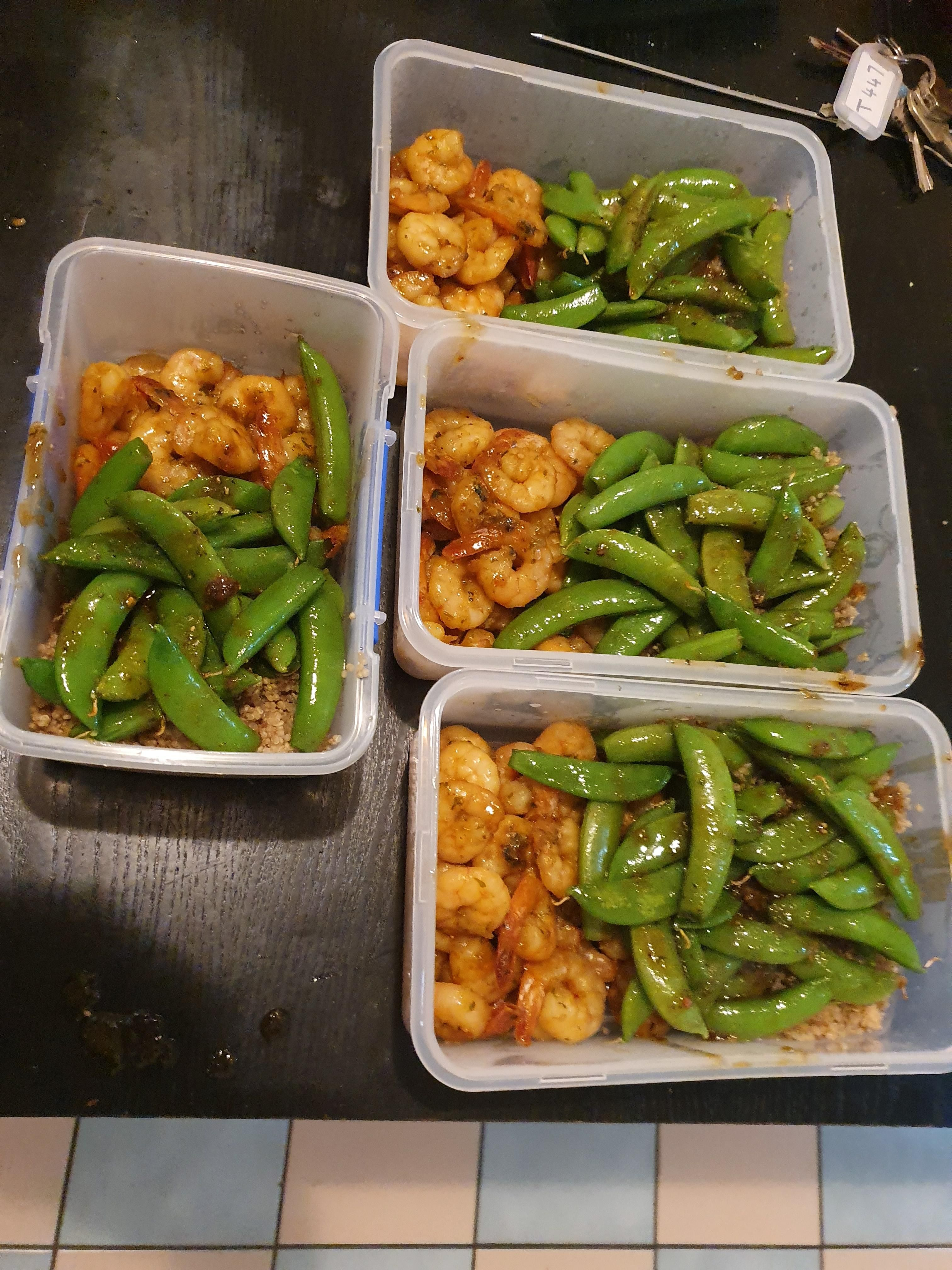 Second Time Doing Prep And This Weeks Looking Good