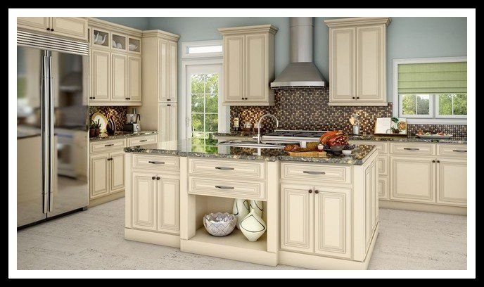 Kitchen Cabinets Example In Lenox, Country Linen Cabinets