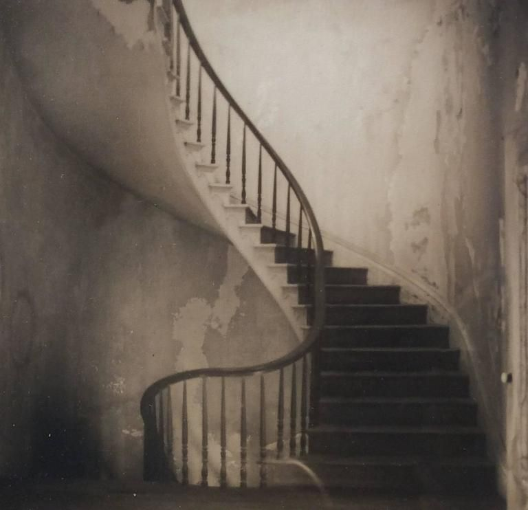 Best David Halliday Staircase Square Sepia Toned Vintage 400 x 300