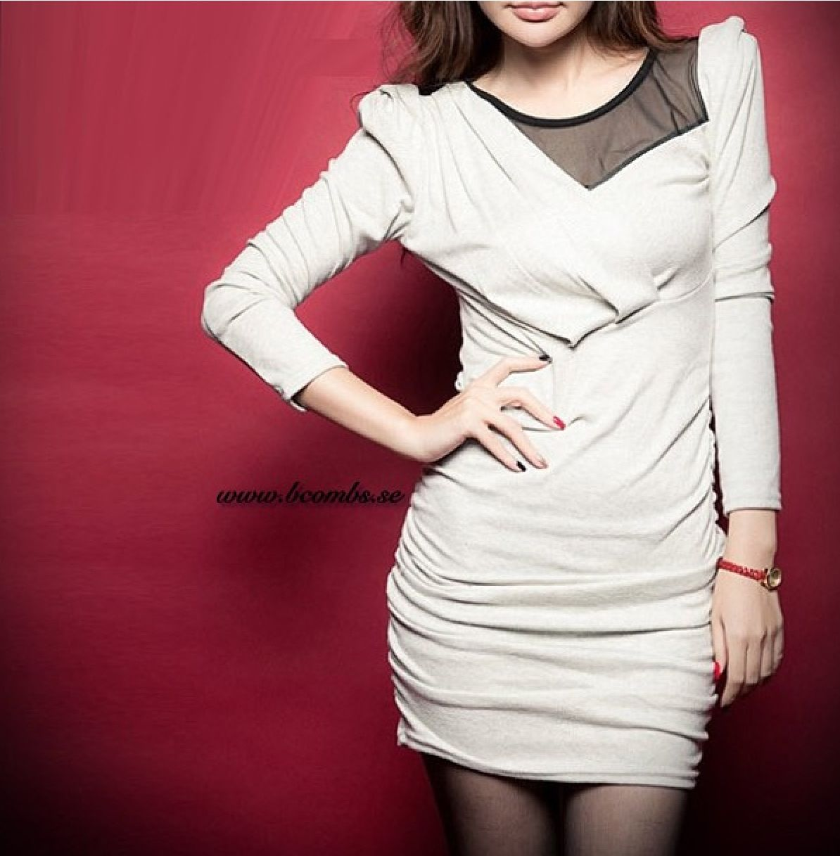 Bcombs fashion sexy style bcombs clothes colors dress white