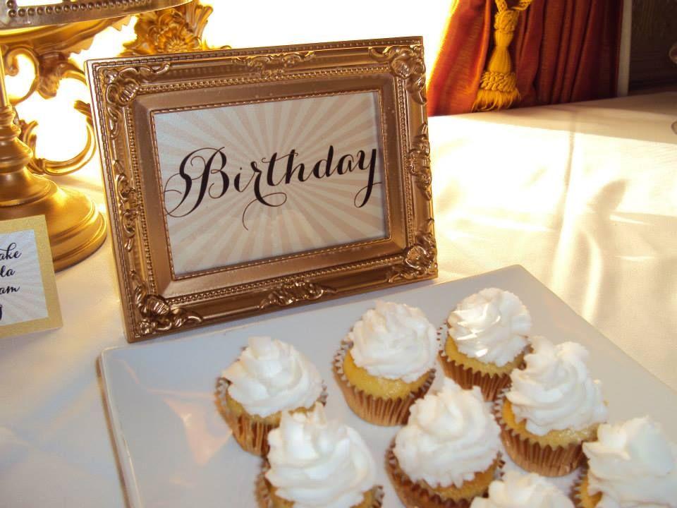 Birthday Dessert Table Stationery By Inky Designs Ottawa Vanilla Cupcakes