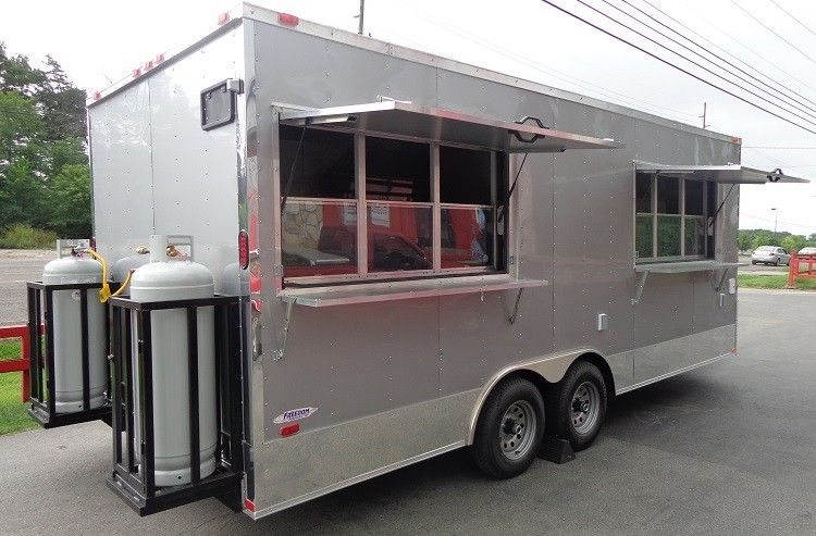 Concession Trailer 8 5 X20 Siler Vending Catering Food Event