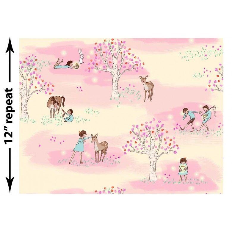 Sew Scrumptious Fabrics - Wee Wander - Wander Woods (Petal), �3.20 (http://www.sewscrumptious.co.uk/wee-wander-wander-woods-petal/)