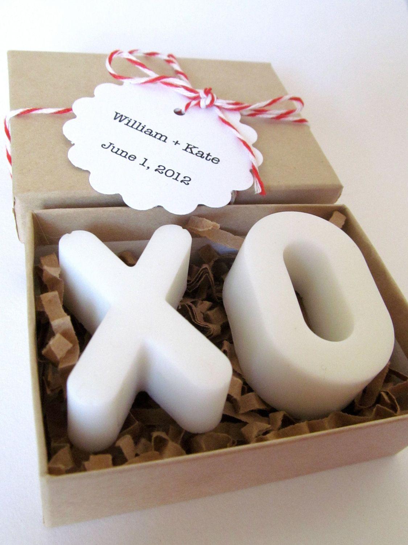 XO SOAP. Wedding Favors. Vegan Glycerin Soap. | My Wedding ...