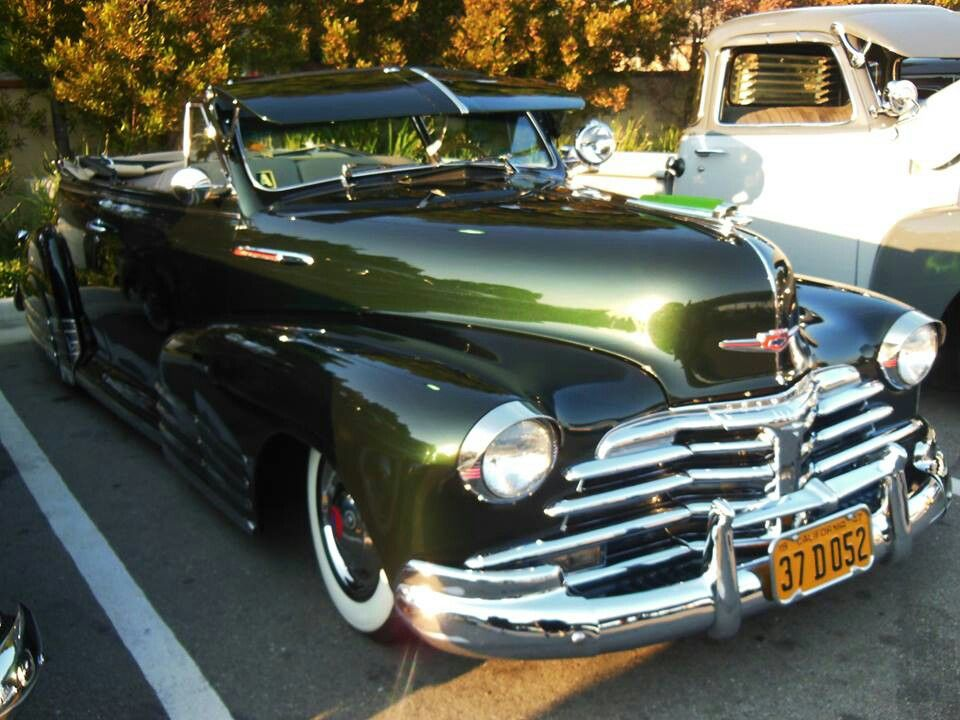 1948 Chevy Convertible Classic Cars Vintage Lowrider Cars