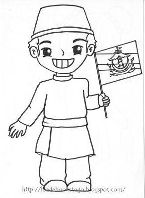 การแต งกายการ ต นอาเซ ยน ถ อธง ระบายส Brunei Cambodia สน บสน นคนไทยให ร กการอ าน ดาวน โหลดการ ต น วาดภาพระบายส ห ดระบายส สม ดระบายส ธง ประเทศบร ไน