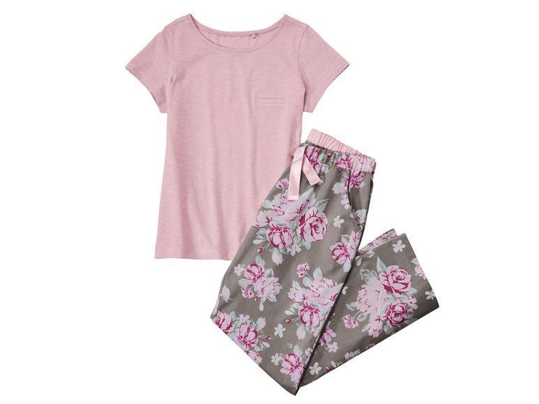 ESMARA® Lingerie Damen Pyjama mit Webhose - Lidl Deutschland - lidl.de