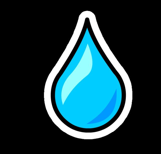 raindrop baby shower template