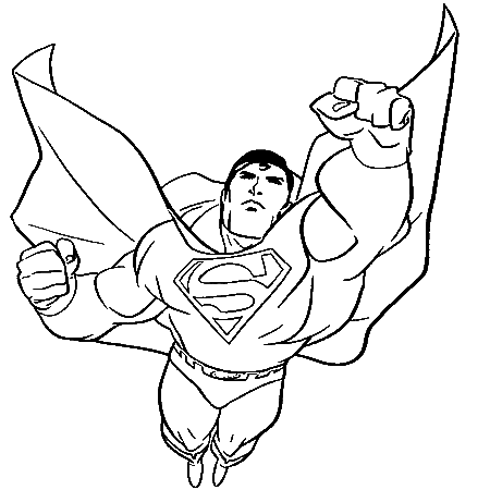 Dessin superman 3 a colorier preparation set de table pinterest colorier combinaison ete - Superman dessin ...