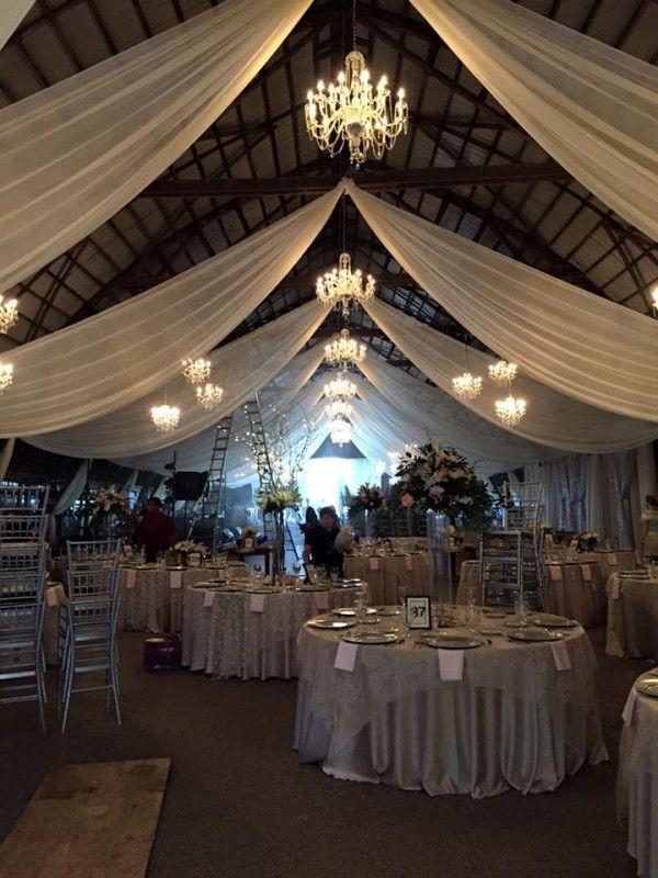 wedding chandeliers barn wedding ohio cleveland dj