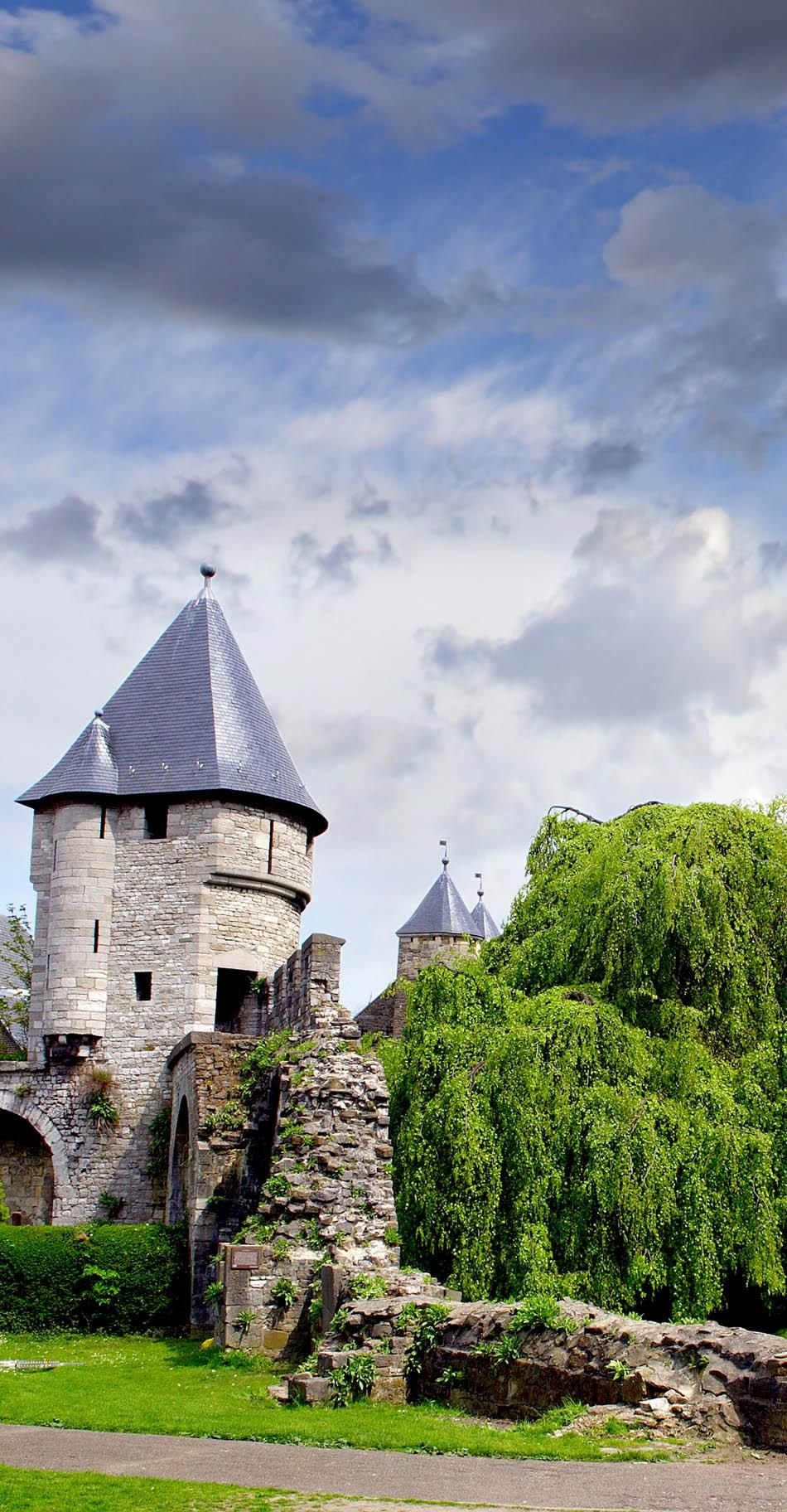 Old city wall at Maastricht, Netherlands       13 Reasons Why The Netherlands Must Be On Your Bucket List