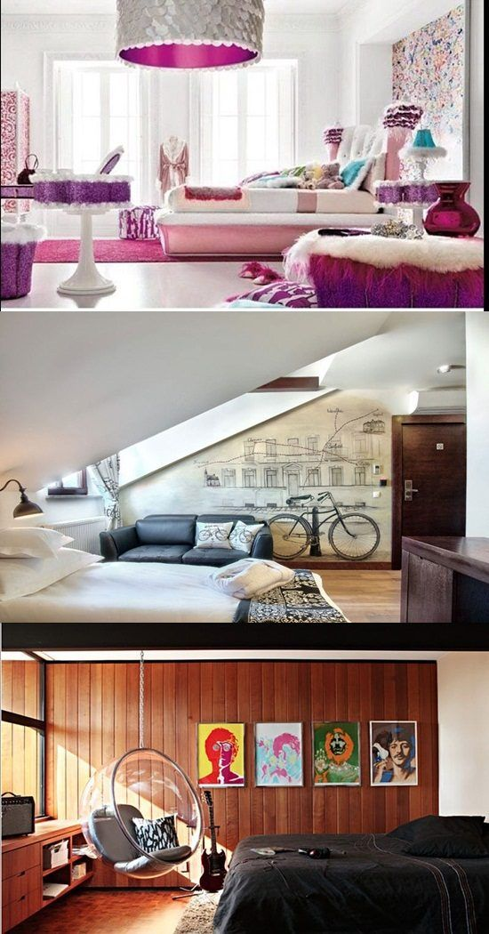 Interior design As a child turns