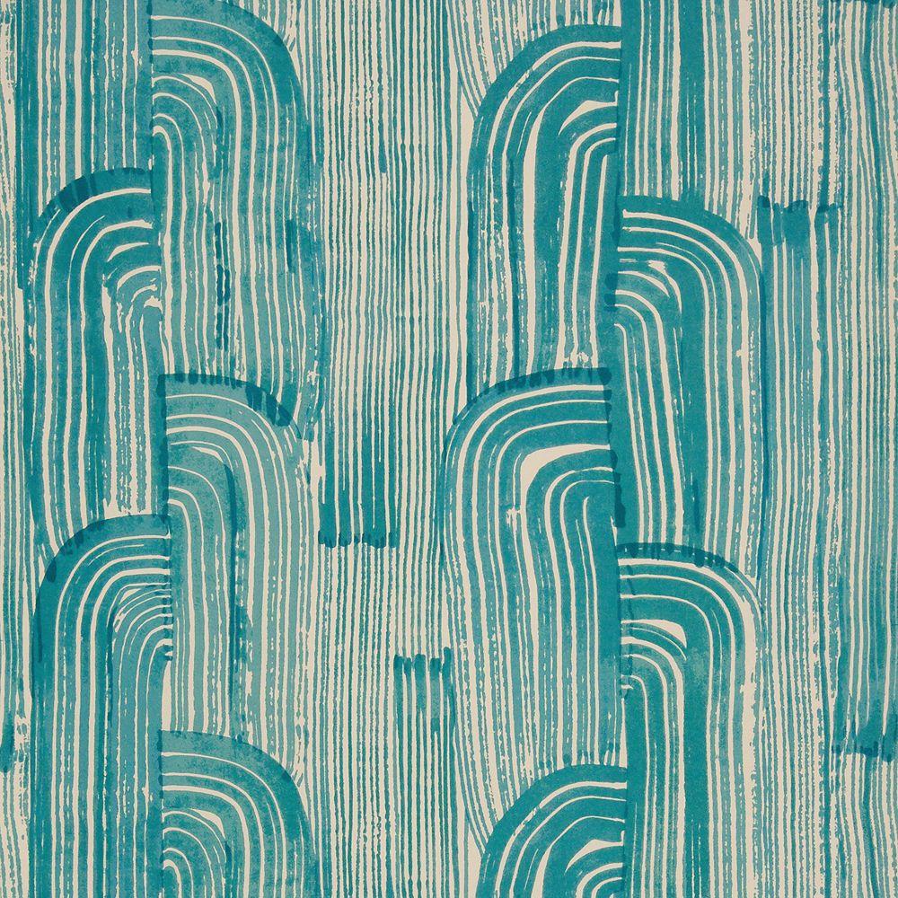 Crescent wallpaper Cream wallpaper, Kelly wearstler
