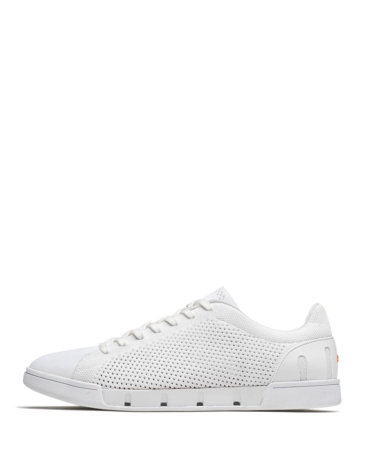 Breeze Knit Trainer Sneakers, White