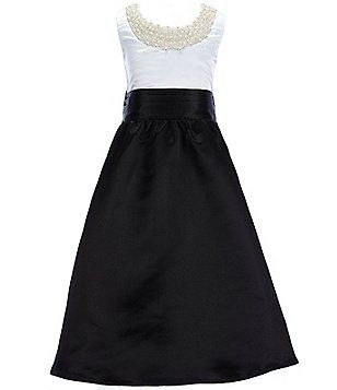Poppies and Roses Big Girls 7-16 Pearl Embellished Color Blocked ...