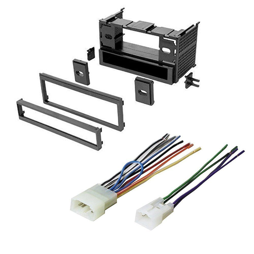 TOYOTA 1991 - 1998 TERCEL CAR STEREO RADIO CD PLAYER RECEIVER INSTALL  MOUNTING KIT WIRE HARNESS-
