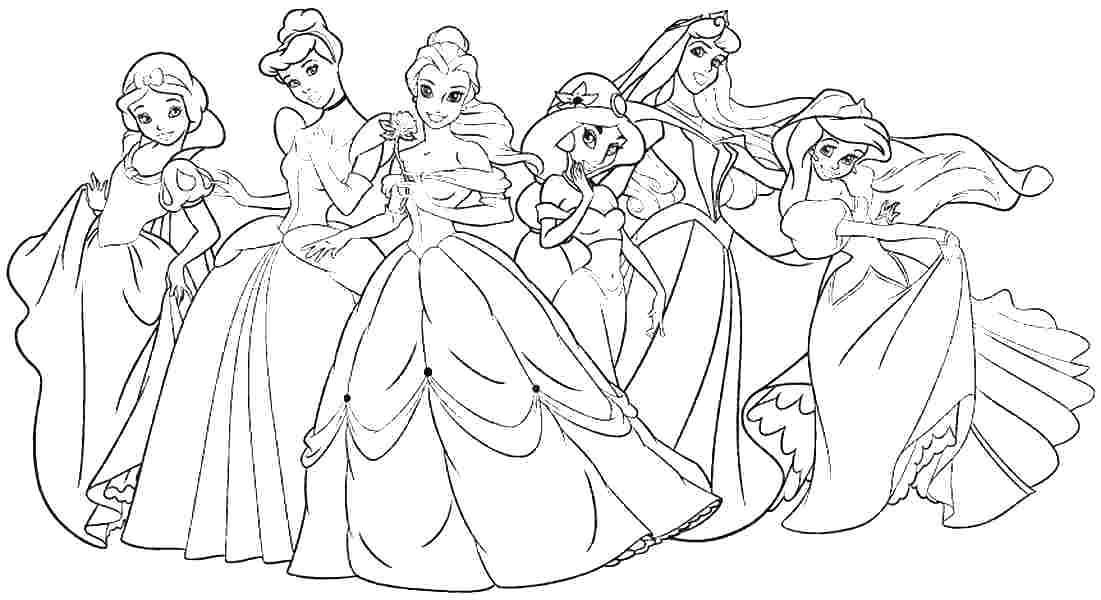 Cute Disney Princess Coloring Pages For Girls Free Coloring Sheets Disney Princess Coloring Pages Princess Coloring Pages Princess Coloring