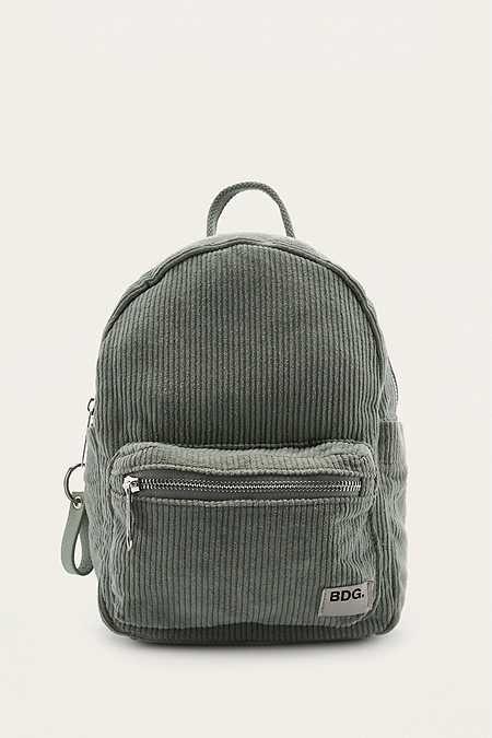 BDG Corduroy Mini Backpack  a676234a87012