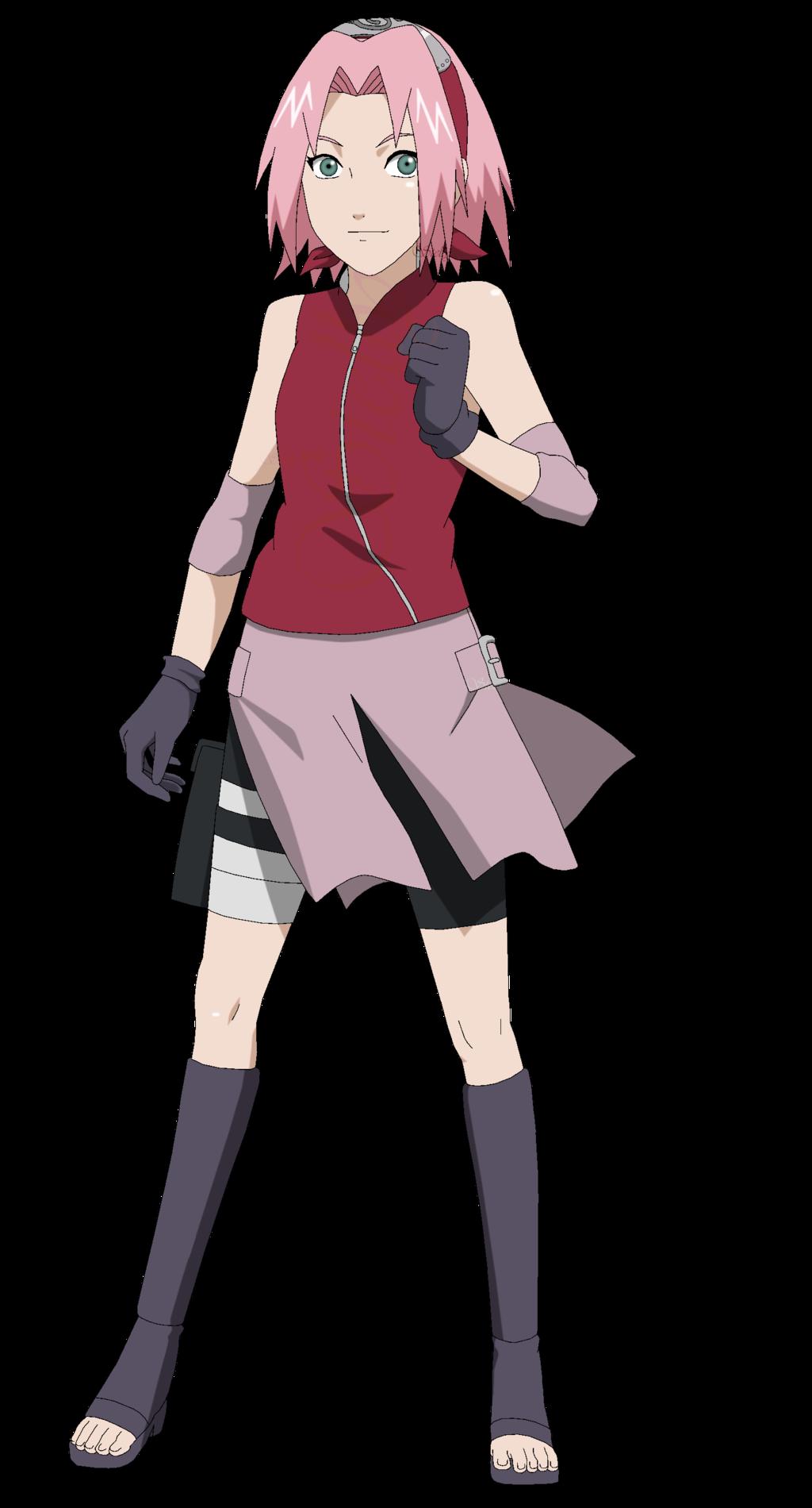 Sakura Haruno Shippuden Lineart Colored By Dennisstelly Naruto