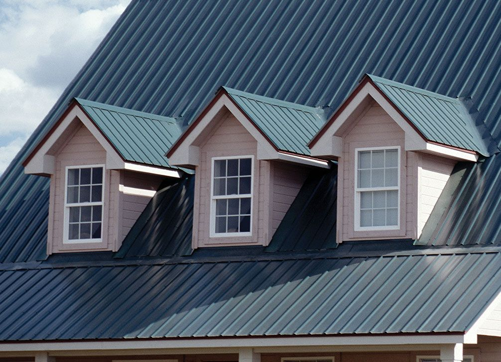 Delta Rib Residential Metal Roofs by ASC Building Products