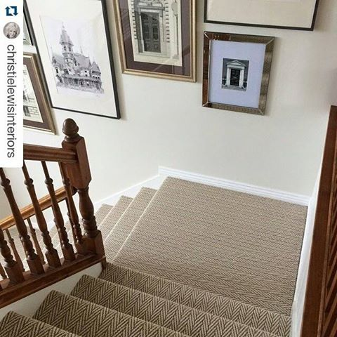 Only Natural Plaza Taupe From Tuftex Carpets Of California On This Staircase .