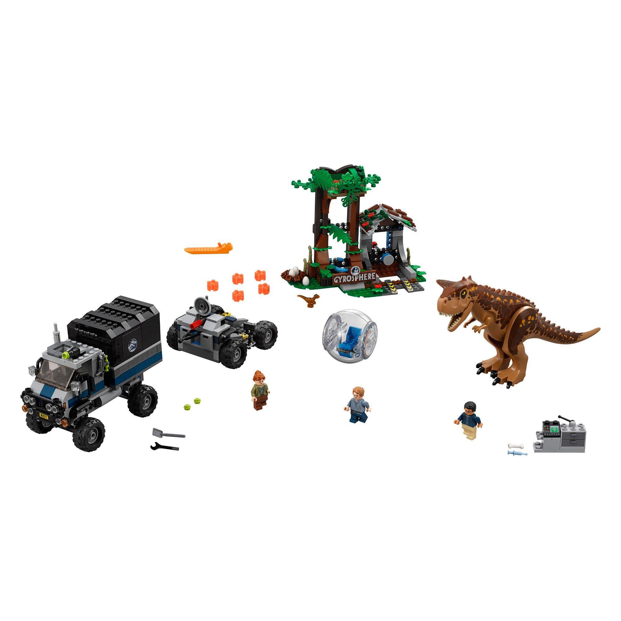 LEGO Jurassic World Carnotaurus Dino Minifigure 75929 Dinosaur Fallen Kingdom Mi