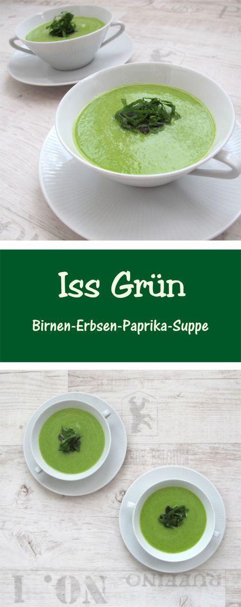 Ein wunderbar grünes Mitbringsel aus der Küche ) Suppen Rezepte - mitbringsel aus der küche