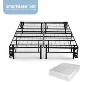 Night Therapy Smart Base Steel Bed Frame King Foundation Sam S