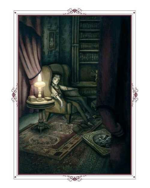 French Artist Benjamin Lacombe's Haunting Illustrations for Poe's Tales of the Macabre.