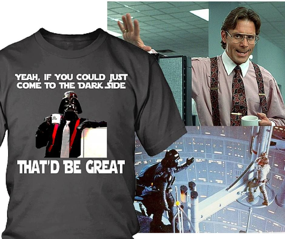 Office Vader Cool Shirts Funny Memes Funny