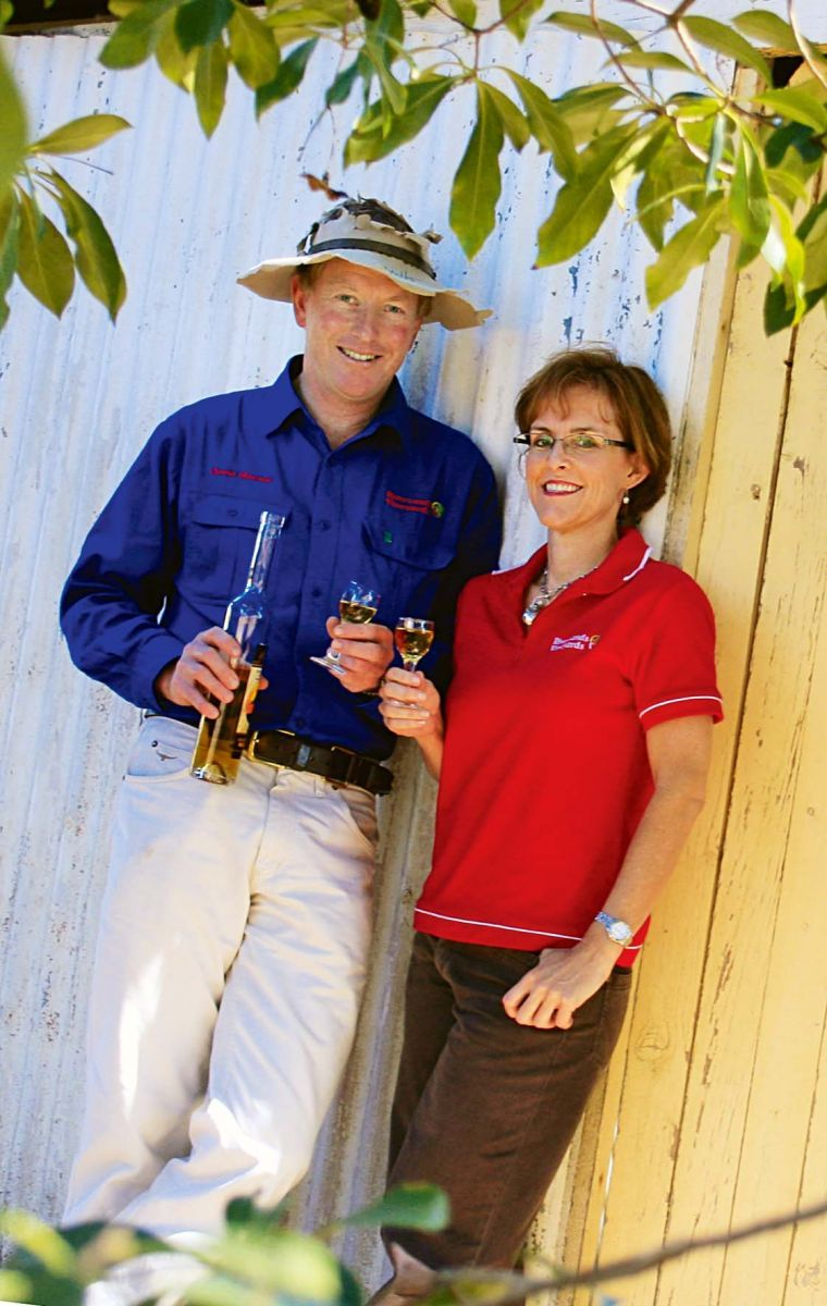 Despite Being Hit By Floods Twice In Two Years Riversands Vineyards Owners David And Alison Blacket Were Inspired To Keep Going Keep Going Stories Inspiration