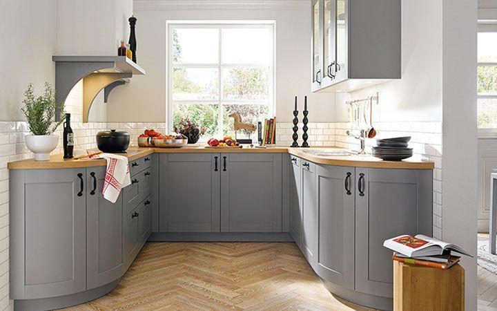 Moderne Landhausküchen - Küchen Brügge Living or loving it - küche in u form