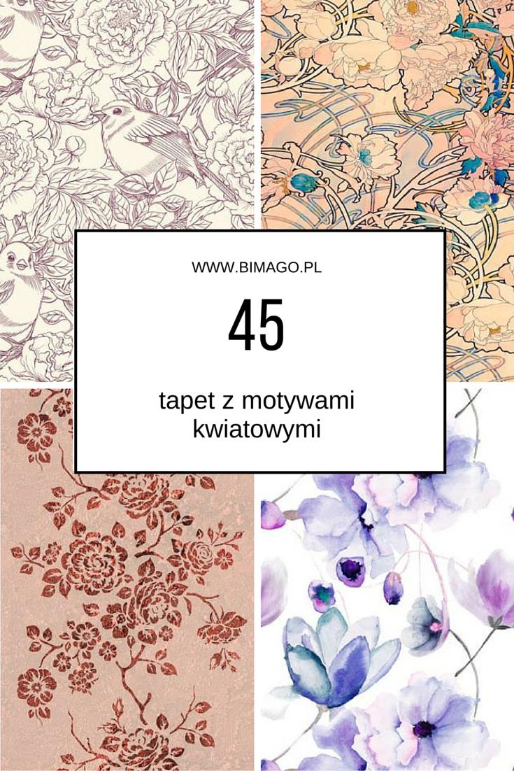 Dekoracje Scienne Kwiaty Ozdoby Bimago Art Movie Posters Poster