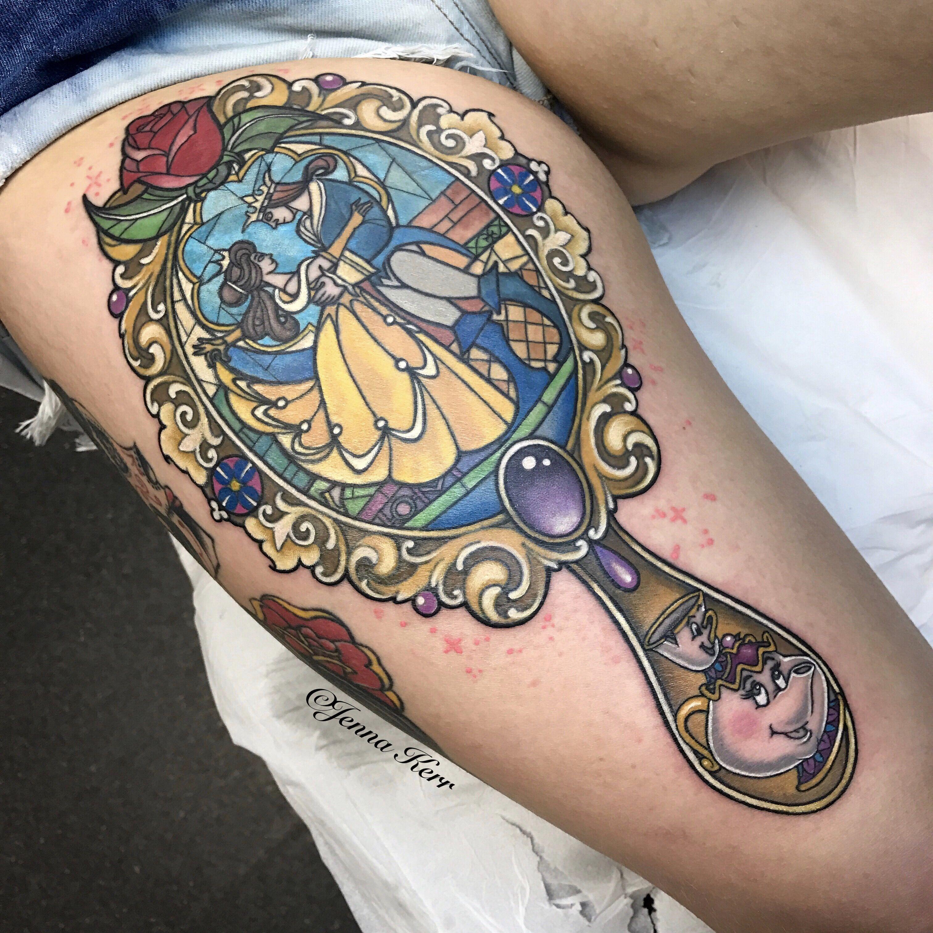 #disney #tattoo #beautyandthebeast #jennakerr