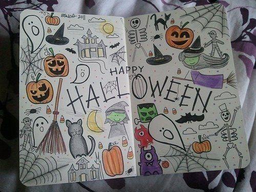 картинки хэллоуина в личный дневник варенье