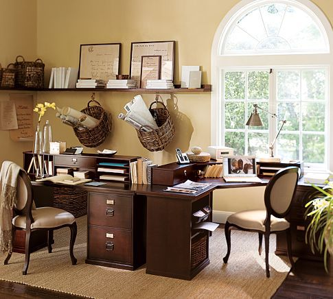 build your own home office. Build Your Own - Bedford Home Office Modular Components | Pottery Barn Perfect For Two!