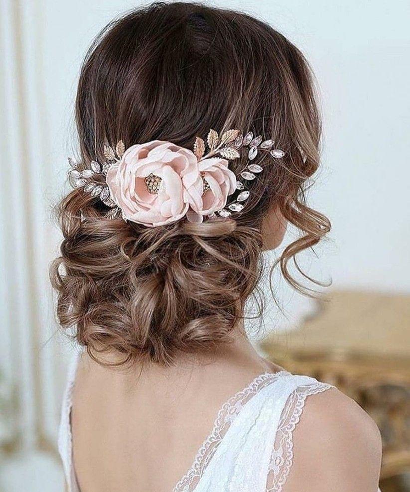 Tendencia en peinados de novia 2020: ¡lo mejor del estilismo bridal!  – Peinados facile