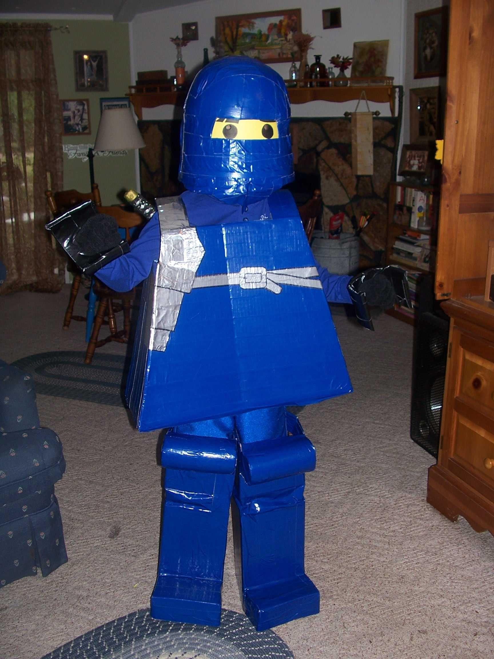 Halloween Costume - Lego Ninjago Jay & Halloween Costume - Lego Ninjago Jay | crafts | Pinterest | Lego ...