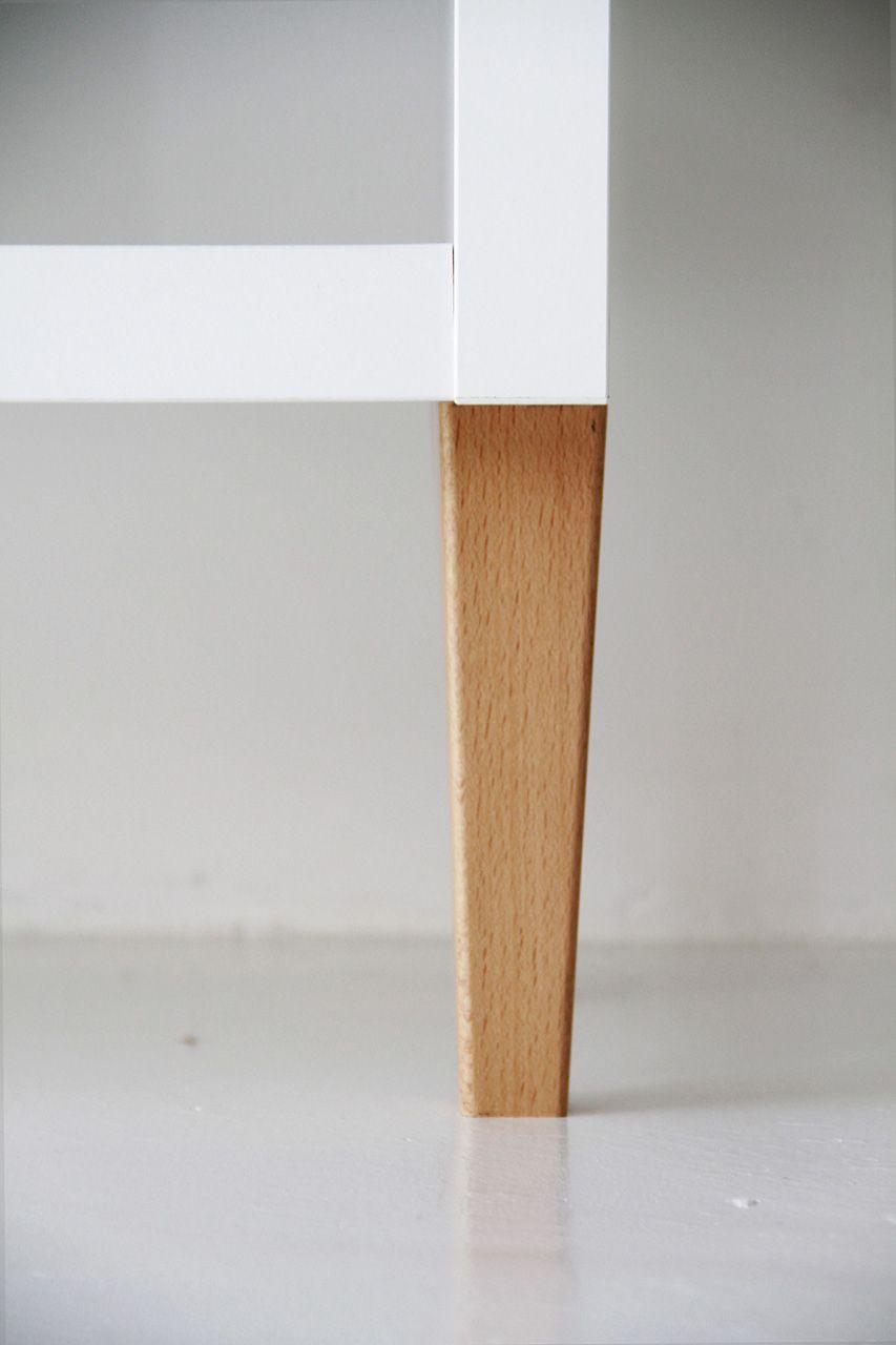 Sofa Leg On An Empty Kallax Legs Ikea Hack