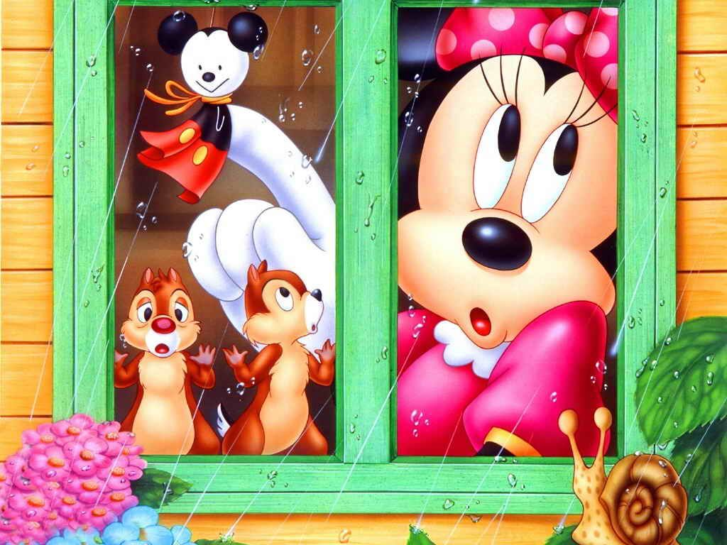 ميني ماوس و ميكي ماوس Minnie Mouse Pictures Minnie Mouse Background Disney Wallpaper