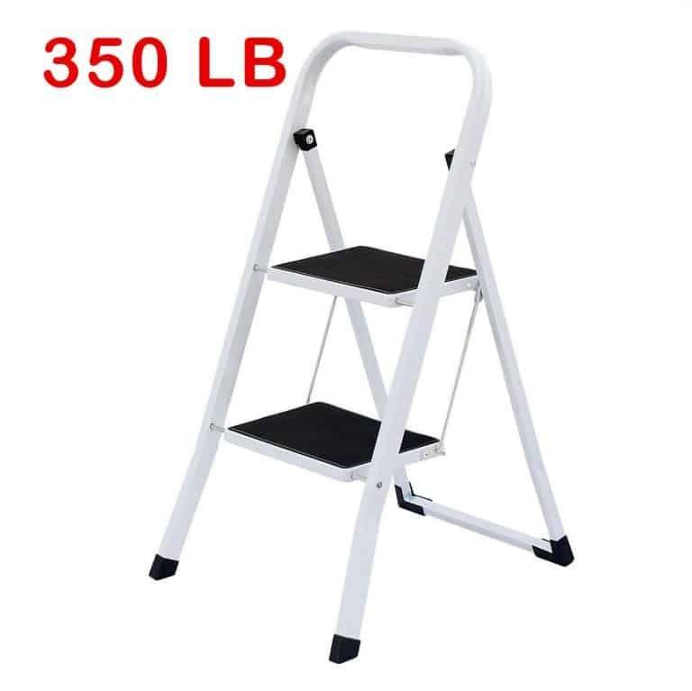 Unaware Heavy Duty Steel Step Ladder Folding Step Stool Stool Step Stool