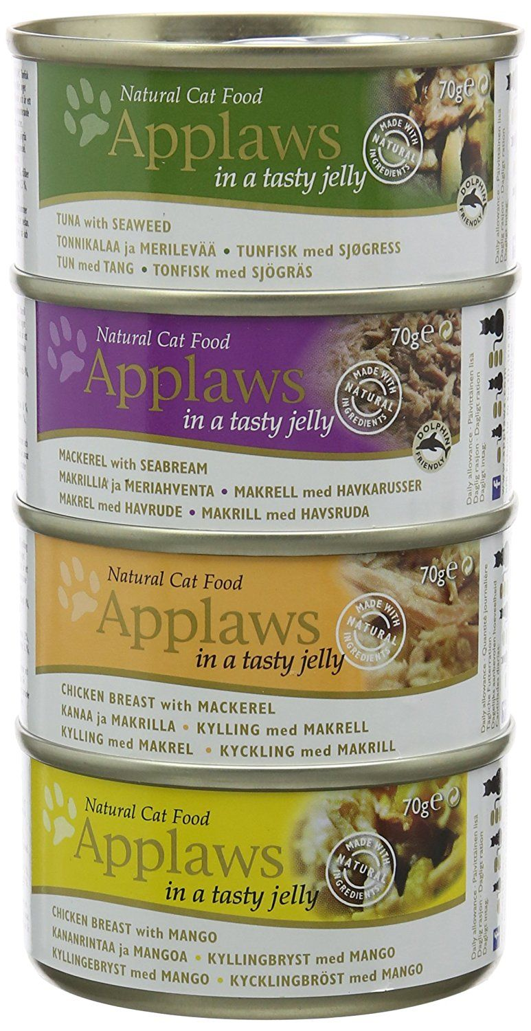 Applaws Cat Food Jelly Tin Multipack 12x70g Find Out More At The Image Link Catfood With Images Natural Cat Food Cat Food Natural Cat