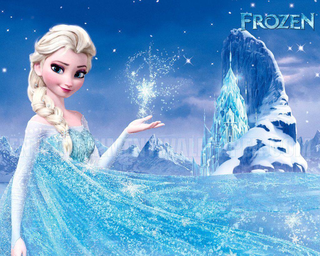 Disney frozen wall stencils - New Frozen Movie Elsa Ice Castle Wallpaper Hd For Desktop