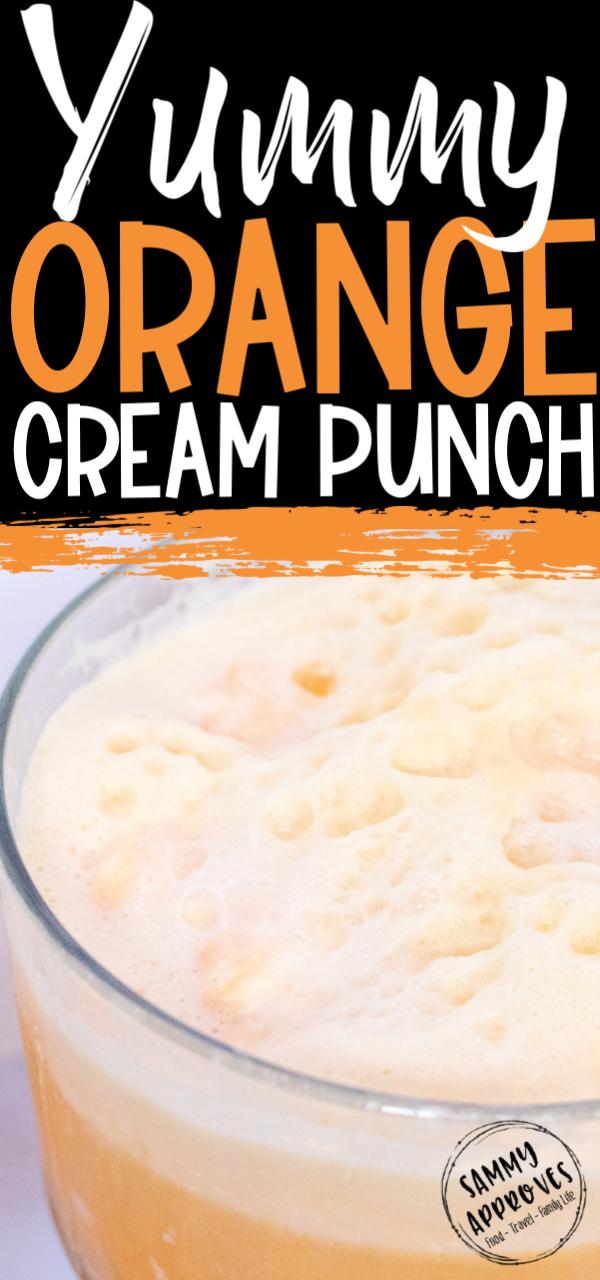 Yummy Orange Cream Punch