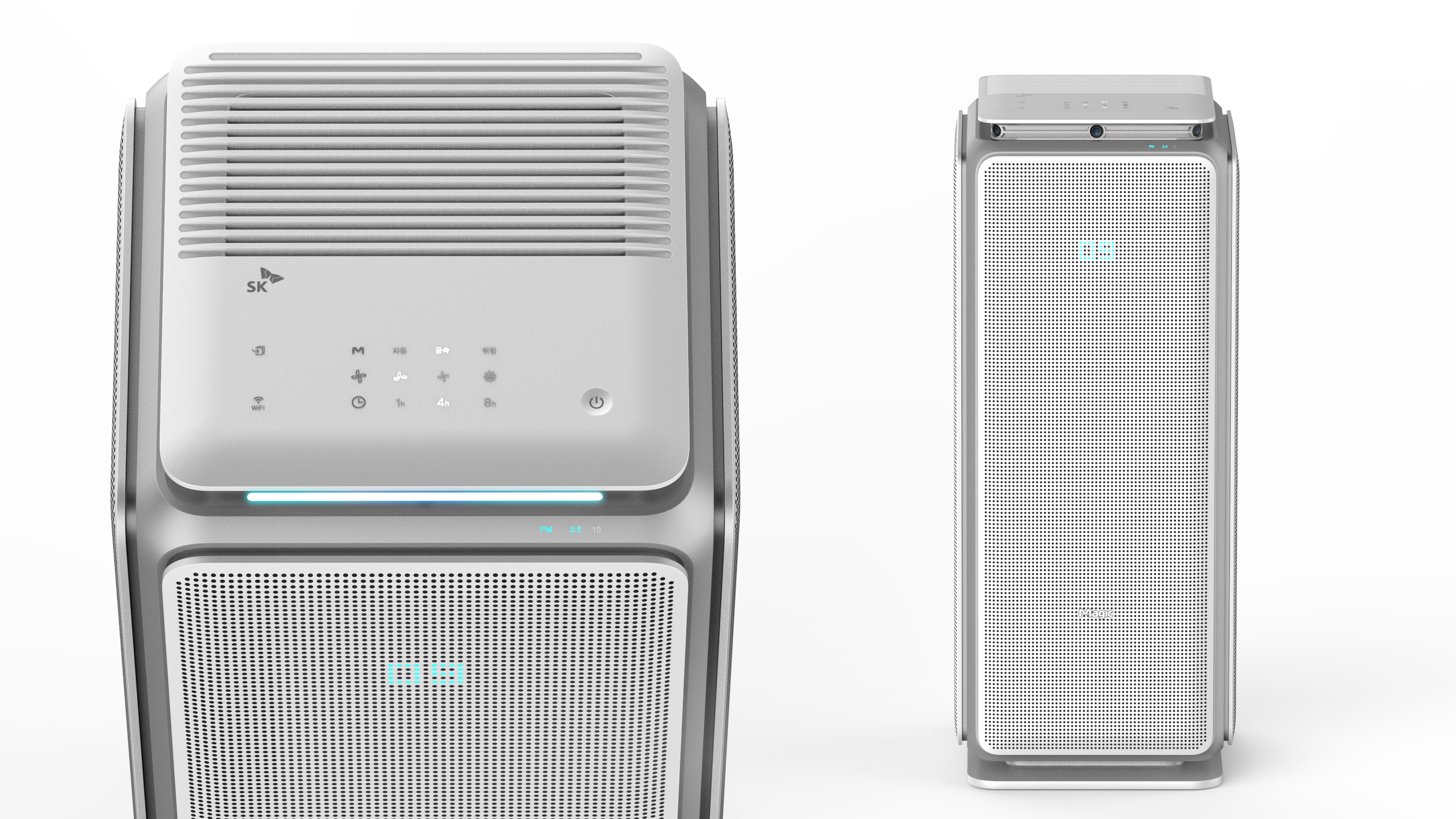 SK magic air purifier designed by BKID air purifier