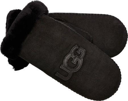 80d6e2d0b94 Women's UGG Heritage Logo Mitten - Black Multi Mittens | UGG | Uggs ...